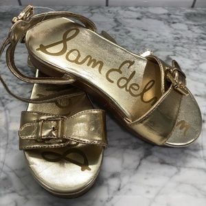 ✨SAM EDELMAN Kids Liora Wedge Sandal Size 13